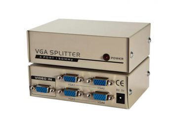 VGA Splitter 1 in 4 out