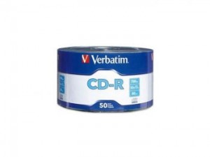 Verbatim 52x CD-R, 50 pcs/pk