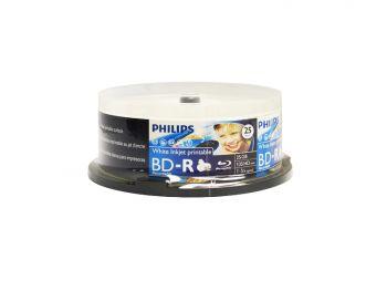 Philips BluRay BD-R, 25 pcs/pk