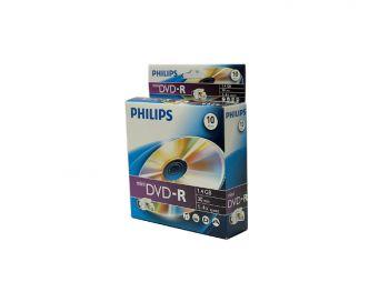 Philips mini DVD-R, 10 pcs/pk