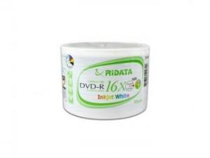 Ridata Printable DVD-R, 50 pcs Opp/pk