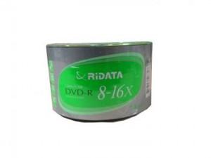 Ridata DVD-R, 50 pcs/pk