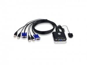 Aten 2-Port USB Cable KVM Switch
