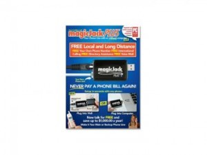 MagicJack Plus VOIP Phone Adapter 2014, Your initial purchase price includes your first 6 months of service.