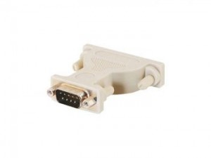 DB25 Female to DB9 Male Serial Adapter