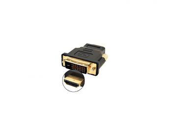 HDMI Male to DVI 24+1 Male adaptor
