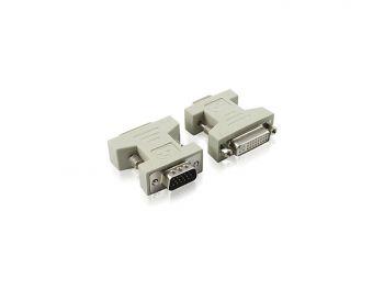 DVI (24+5) Female to VGA Male Adaptor