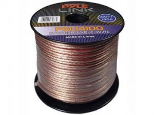 Pyle Link 100 ft. 16AWG Speaker Wire - 2 Conductor