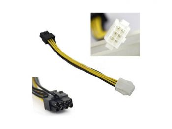 Internal cable, 6 pin to 8 pin