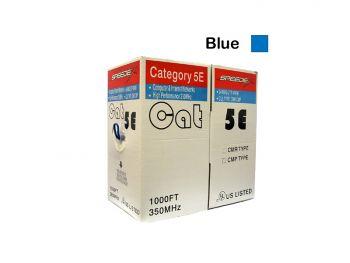 1000Ft/Box, FT6, Cat5e Blue Cable