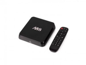 M8 Quad Core Cortex A9 2.0GHz Bluetooth Wifi XBMC Streaming Player 4K Hdmi Android 4.4 KitKat OS TV Box RJ 45 LAN Ethernet Network Adapter