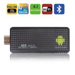 MK809III Quad core Android 4.2.2 Mini PC TV RK3188 Quad core Cortex A9 Android 4.2.2 2GB/8GB