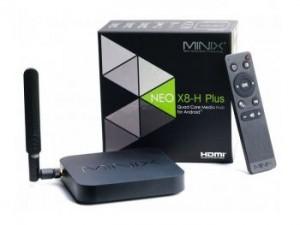 Minix Neo X8 Plus Arm Cortex A9 Quad Core Android 4.4 2GB RAM 16GB Smart Media Hub FHD 4K UHD WiFi