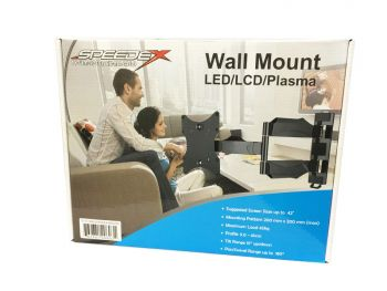 "Wall Mount for 23-42"" LED/LCD/Plasma Screen Bilingual (3 PCS/CTN)"