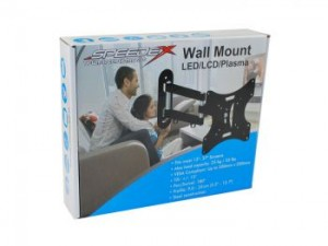 Wall Mount for 13-37in LED/LCD/Plasma Screen, Bilingual
