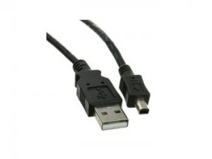 USB to mini USB 4 Pin Cable