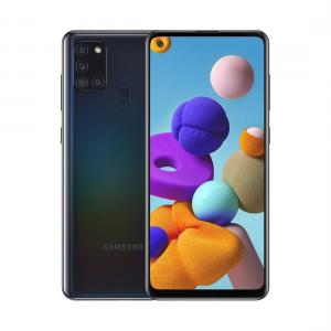 Samsung Galaxy a21s phone black